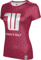 ProSphere Womens Golf Womens Short Sleeve Tee