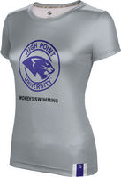 ProSphere Womens Swimming Womens Short Sleeve Tee