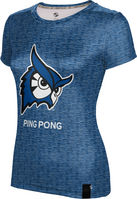 ProSphere Ping Pong Womens Short Sleeve Tee