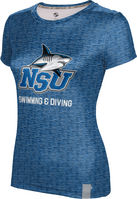 ProSphere Swimming & Diving Womens Short Sleeve Tee