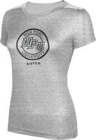 ProSphere Sister Womens TriBlend Distressed Tee