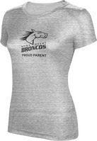 ProSphere Proud Parent Womens TriBlend Distressed Tee