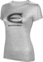 ProSphere Grandparent Womens TriBlend Distressed Tee