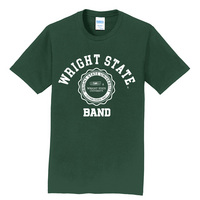 Band Short Sleeve Crewneck Womens Tee (Online Only)