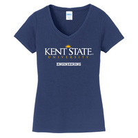 Engineering Short Sleeve Vneck Womens Tee (Online Only)