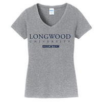 Education Short Sleeve Vneck Womens Tee (Online Only)