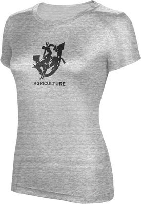ProSphere Agriculture Womens TriBlend Distressed Tee