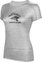 ProSphere Communications Womens TriBlend Distressed Tee