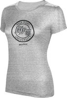 ProSphere Music Womens TriBlend Distressed Tee