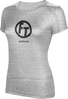 ProSphere Nursing Womens TriBlend Distressed Tee