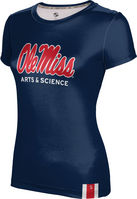 ProSphere Arts & Science Womens Short Sleeve Tee