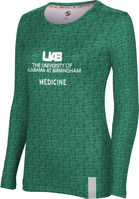 ProSphere Medicine Womens Long Sleeve Tee