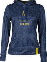 College of Fine Arts ProSphere Womens Sublimated Hoodie