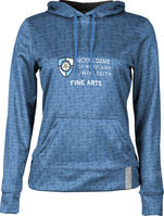 ProSphere Fine Arts Womens Pullover Hoodie