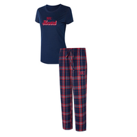 Howard University Ethos Ladies Short Sleeve And Pant Set