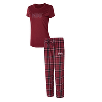 Mississippi State Ethos Ladies Short Sleeve And Pant Set