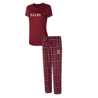 Elon Ethos Ladies Short Sleeve And Pant Set