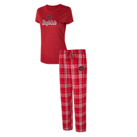 Temple Ethos Ladies Short Sleeve And Pant Set
