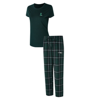 Loyola Univ Maryland Ethos Ladies Short Sleeve And Pant Set