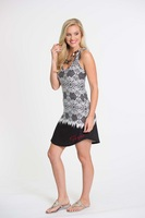 Flying Colors Zoe Lace Overlay Dress