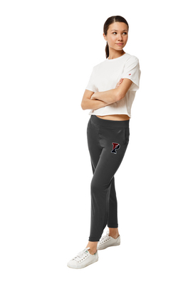 Red Shirt Athleisure Pleated Jogger