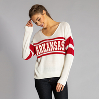 Team LJ Knitted Varsity Sweater