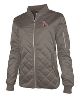 WomensQuilted Flight Jacket