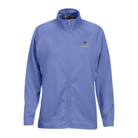 Vantage Womens Brushed Back Micro Fleece Full Zip Jacket