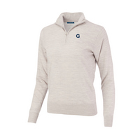 The Collection at Georgetown Merino Wind Block Quarter Zip