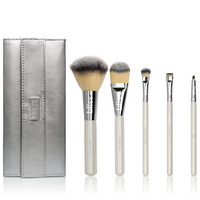 6 Piece Face Brush Set with Bag