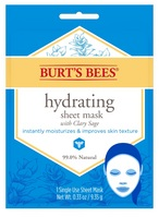 Burts Bees Hydrating Face Mask, Single Use Sheet Mask