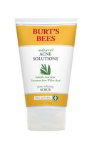 Burts Bees Natural Acne Solutions Pore Refining Scrub, 4 Ounces