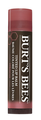 Burts Bees 100% Natural Tinted Lip Balm, Hibiscus  1 Tube