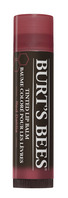 Burts Bees 100% Natural Moisturizing Tinted Lip Balm, Red Dahlia, 1 Tube