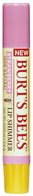 Burts Bees 100% Natural Moisturizing Lip Shimmer, Strawberry, 1 Tube