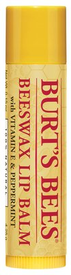 Burts Bees 100% Natural Moisturizing Lip Balm, Beeswax, 1 Tube