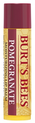 Burts Bees 100% Natural Moisturizing Lip Balm, Pomegranate, 1 Tube