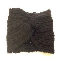 Fantasia SOLID KNITTED INTERLOCKING BASIC HW BLACK