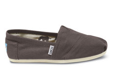 Toms Classic Alpargata in Ash Canvas