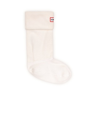 Hunter Boots Short Boot Sock in Cream Medium