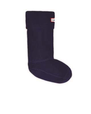 Hunter Boots Short Boot Sock in Navy, Large