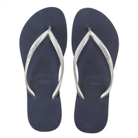 Havaianas Slim Mix Navy Blue and Silver