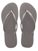 Havaianas Slim Steel Grey, A core style that merchandise perfectly back to any collection.
