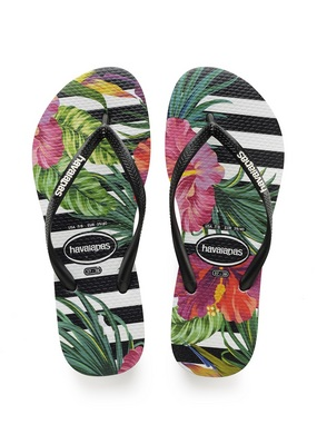 Havaianas Slim Tropical Floral Sandal Imperial Palace