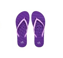 Purple Heart Flip Flops  Large
