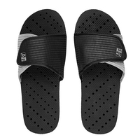 Black and Gray Slides  XXLarge