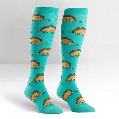 Sock It To Me Tacosaurus Knee Hi Socks