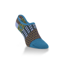 Crescent Sock  Gallery Footsie Peacock