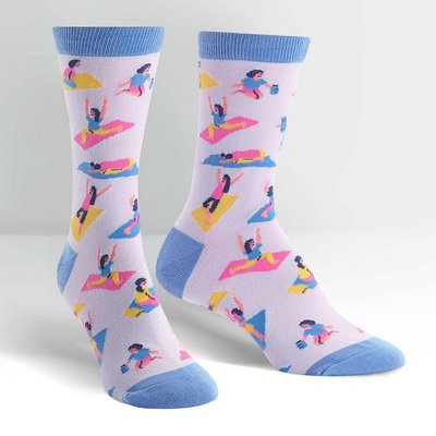 SOCK IT TO ME Namaste Crew Socks