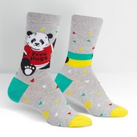 Sock It To Me Bear Hug Crew Socks